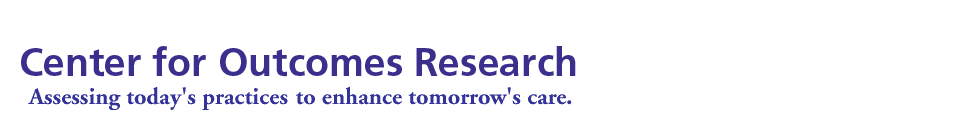 Center for Outcomes Research