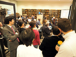 Eyes to the Past Exhibit Reception: KT-photo-12