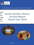 Lamar Soutter Library Annual Report Fiscal Year 2019