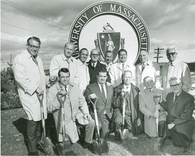 Groundbreaking on October 23, 1969