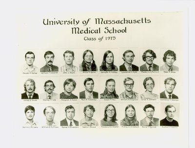 University of Massachusetts Medical School Class of 1975