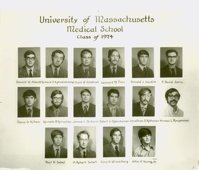 University of Massachusetts Medical School Class of 1974