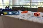 3D Printing Exhibit at 2017 UMCCTS Research Retreat
